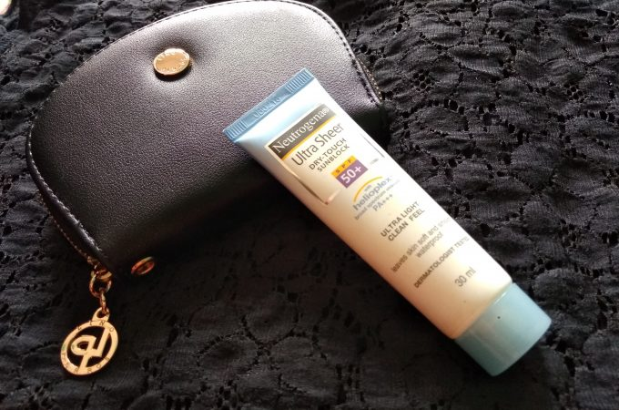 Sunscreens are essentials? Neutrogena UltraSheer Dry Touch Sunblock Review