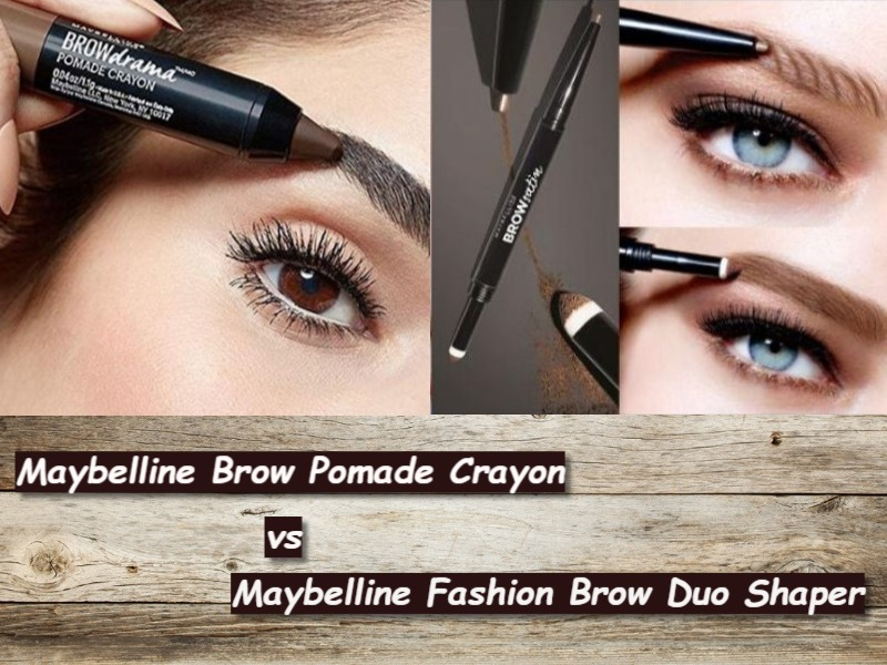937b744849b Maybelline Brow Pomade Crayon vs Brow Duo Shaper - Ask Goldy